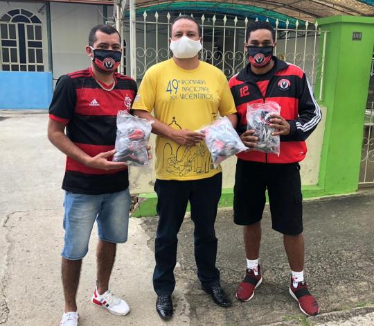 Flamanhu promove campanha de doação de máscaras
