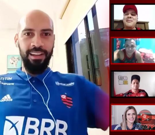 Marquinhos participa de encontro virtual com sócios-torcedores