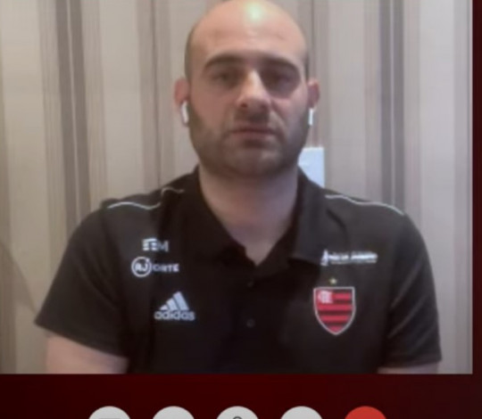 Diego Jeleilate enaltece a grandeza do Flamengo