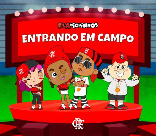 Canal Flamiguinhos disponibiliza suas músicas nas plataformas digitais de áudio