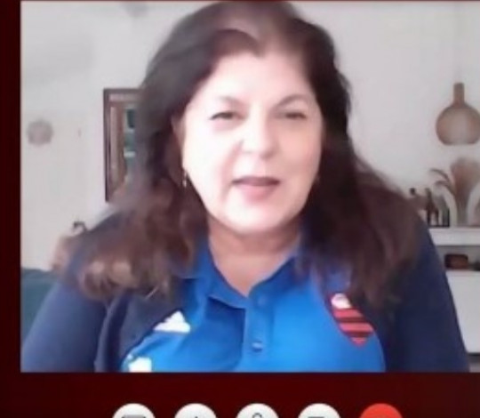 Multicampeã pelo Flamengo, Georgette Vidor é a convidada do 'Papo Virtual' da FlaTV