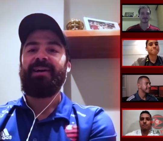 Franco Balbi conversa com sócios-torcedores no Happy Hour do Nação
