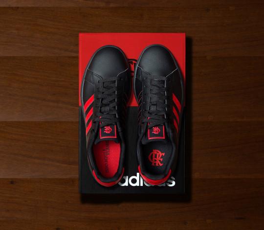 Grand Court Flamengo: o novo tênis adidas especial para a Nação Rubro-Negra