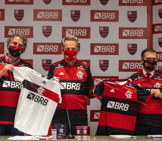 Flamengo e BRB celebram acordo de parceria master