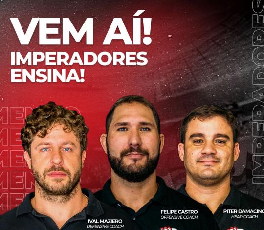 Flamengo Imperadores lança evento online para ensinar sobre futebol americano