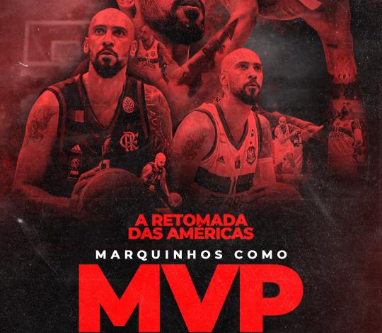 O MVP fica! Marquinhos acerta renovação de contrato com o FlaBasquete por um ano