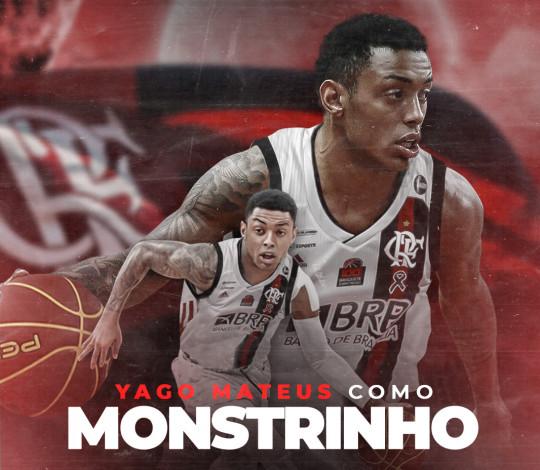 É NOSSO! Yago Mateus é o novo jogador do FlaBasquete