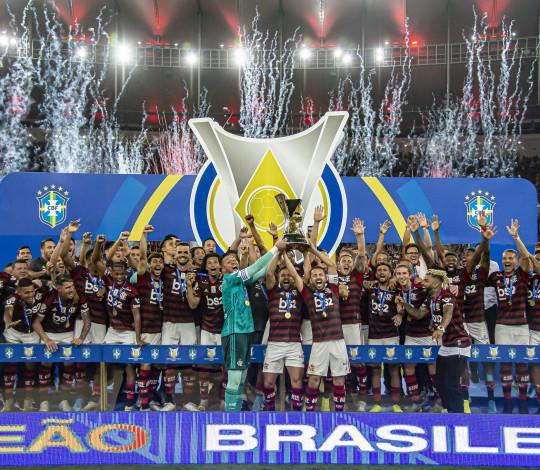 CBF divulga tabela com os dez primeiros jogos do Flamengo no Campeonato Brasileiro 2020