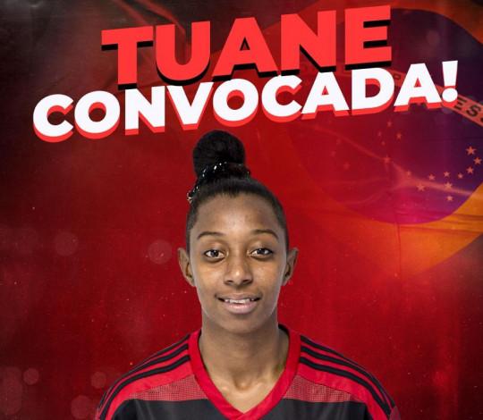 Tuane é convocada para a Seleção Brasileira Sub-17