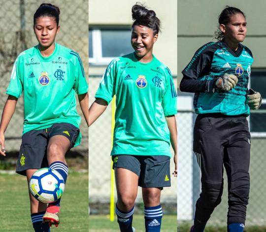 Carol Pereira, Maria Peck e Tainá são promovidas ao time principal