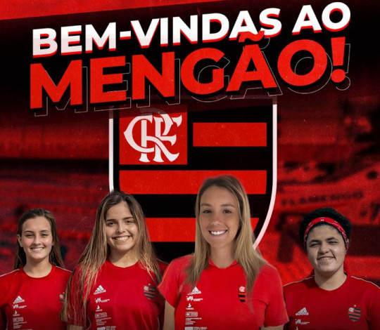 Quatro craques do polo aquático reforçam a equipe feminina do Mengão