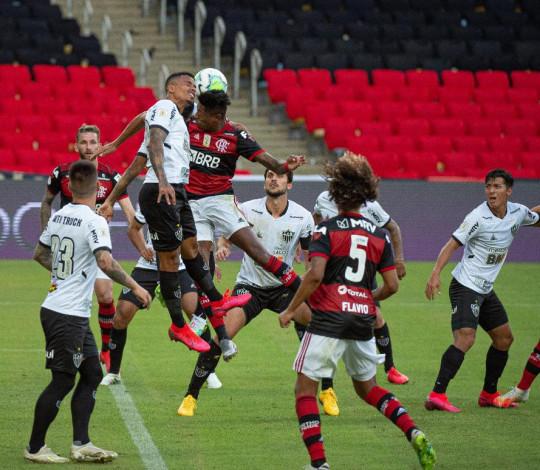 Flamengo é derrotado pelo Atlético-MG por 1 a 0