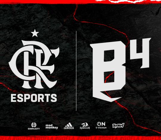 Flamengo Esports anuncia parceria com B4 e entra no Free Fire