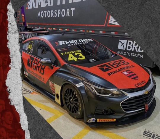 BRB homenageia Flamengo em carro da Stock Car, em Interlagos