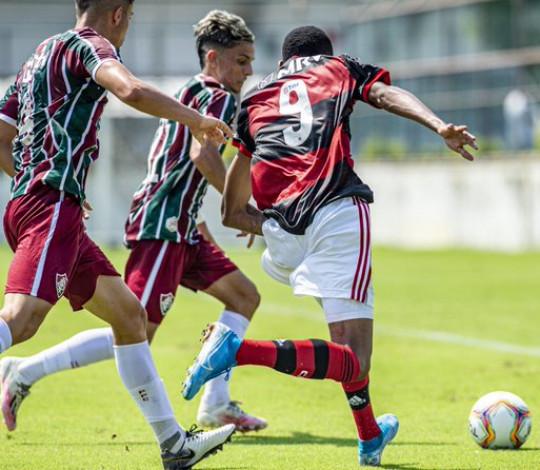 Flamengo perde para o Fluminense por 2 a 0 pela Taça Guanabara Sub-20