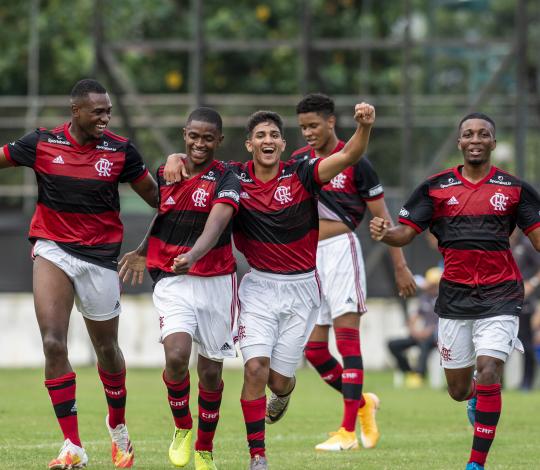 Flamengo goleia o Volta Redonda pela Taça Guanabara Sub-20