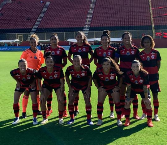 Fora de casa, Flamengo/Marinha vence o Vitória por 1 a 0 pelo Brasileirão
