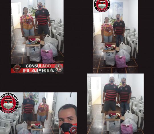 Flapriá promove doação de roupas e agasalhos