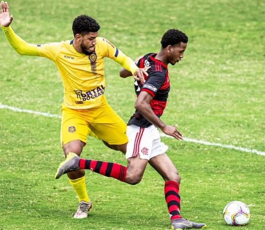 Fora de casa, Flamengo é derrotado pelo Madureira na Taça Guanabara Sub-20