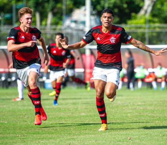 Mengão goleia o Resende por 4 a 1 na Taça Guanabara Sub-20