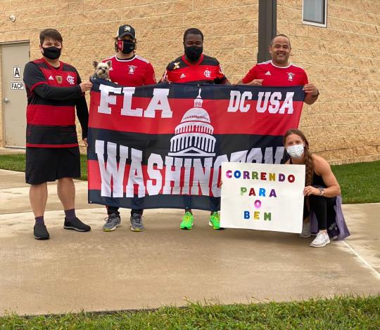 Consulado Fla-Washington arrecada fundos para ONG Correndo Para o Bem