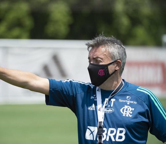 Flamengo finaliza preparação para encarar o Sport