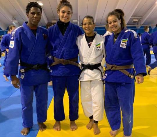 Rubro-negras participam de treinamento de campo da Seleção Brasileira de Judô