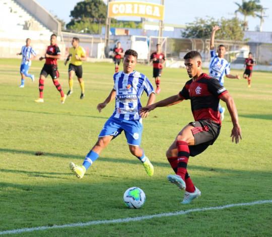 Sub-20 vence o Jaciobá (AL) fora de casa e está classificado para a segunda fase da Copa do Brasil