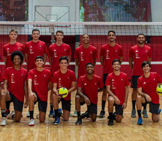Com equipe Juvenil, Flamengo disputa o Estadual de Vôlei Masculino
