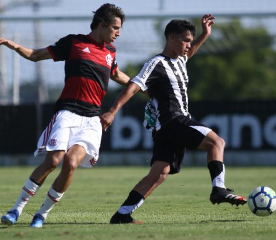 Fora de casa, Sub-17 empata com o Ceará por 2 a 2 pelo Brasileiro