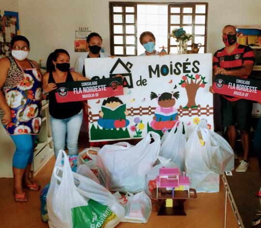Consulado Fla Noroeste-DF promove Campanha de Arrecadação de Brinquedos
