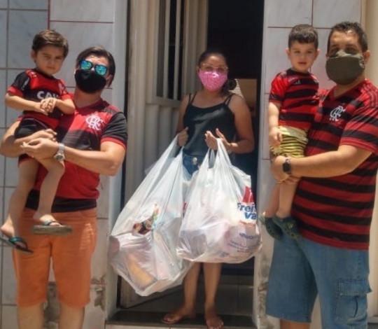Consulado Fla Nação Cariri atende 200 crianças com campanha Doe Brinquedos e Ganhe Sorrisos