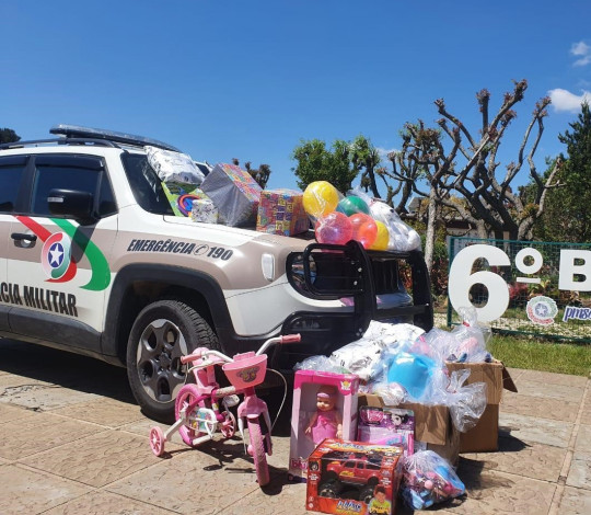 Embaixada Fla Lages promove ação com outras torcidas pelo Dia das Crianças