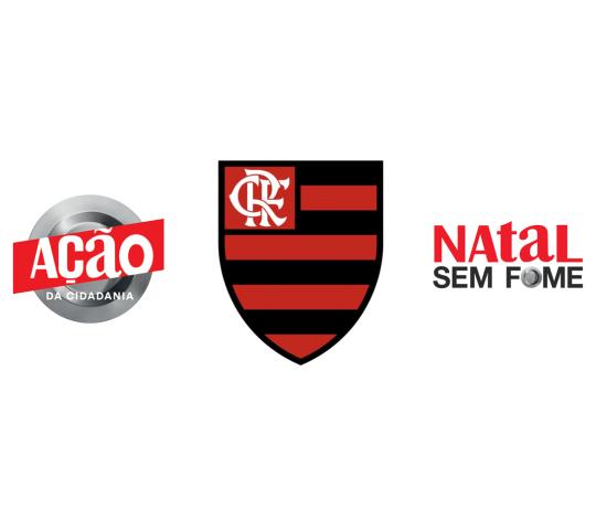 Em parceria com a Ação da Cidadania, Flamengo joga contra a fome em ação na partida deste domingo