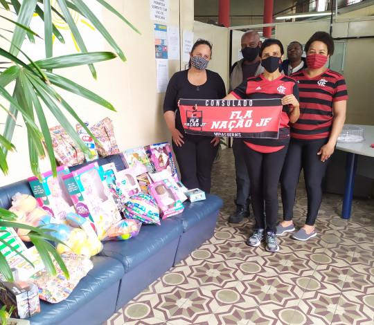 Veja como foi a campanha de Dia das Crianças do Consulado Fla Nação JF