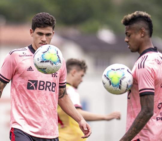 Flamengo finaliza a preparação para a partida contra o Corinthians, pelo Brasileirão