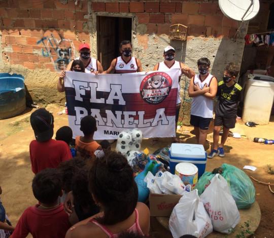 Campanha de Dia das Crianças é a primeira ação social do Consulado Fla Panela Maricá