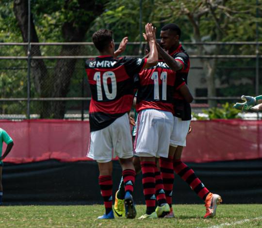 Flamengo goleia o Boavista por 6 a 1 pela Taça Rio Sub-20