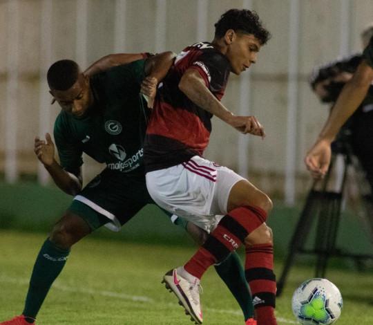 Sub-20 é derrotado pelo Goiás por 1 a 0 na partida de ida das oitavas da Copa do Brasil