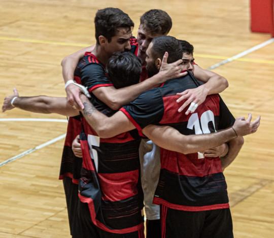 Flamengo vence Niterói por 3 sets a 1 no Estadual de Vôlei Masculino
