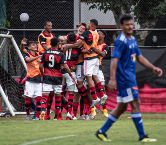 Sub-20 ganha do Cruzeiro na Gávea e alcança sua terceira vitória seguida no Campeonato Brasileiro