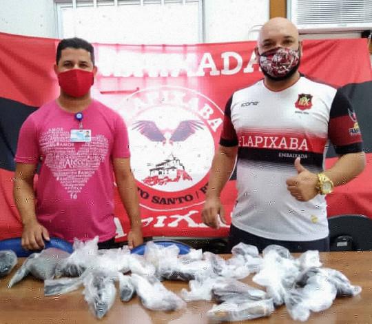 """Embaixada FLAPIXABA participa da ação """"Cabelo, Amor e Paixão!"""" do Flamengo com a Laço Rosa"""
