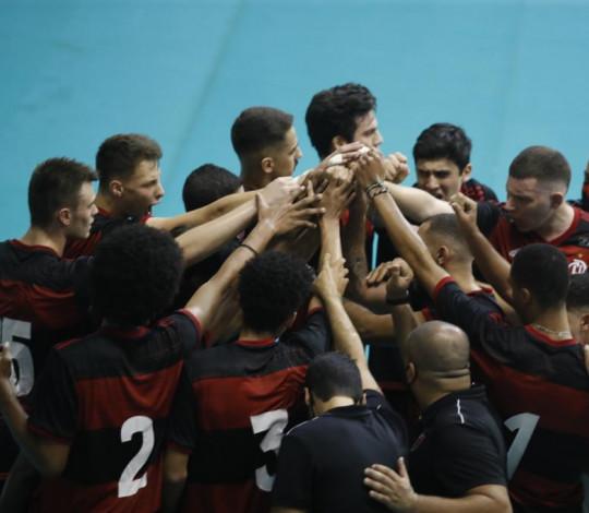 Flamengo fica com a prata no Estadual Adulto de Vôlei Masculino