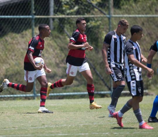 Fora de casa, Flamengo empata com o Botafogo por 2 a 2 na Taça Rio Sub-20