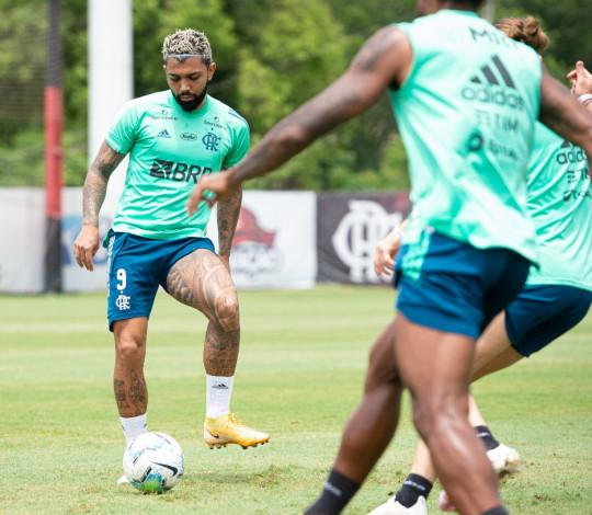 Flamengo encerra os preparativos para o jogo da volta contra o Athletico-PR, pela Copa do Brasil