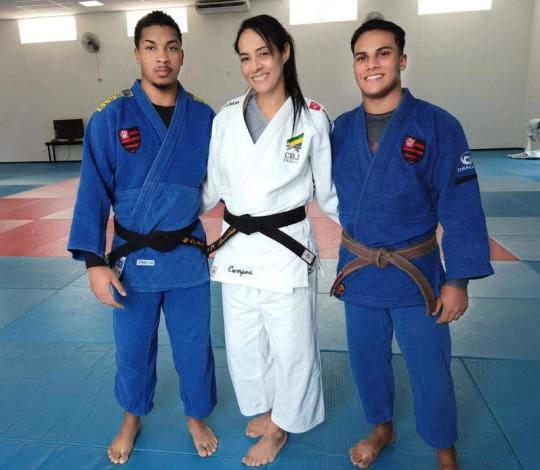 Judocas rubro-negros encerram treinamento de campo em Pindamonhangaba-SP