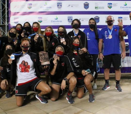 Flamengo conquista o bronze no Brasil Open Feminino de Polo Aquático 2020