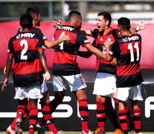Com excelente atuação, Mengão vence o Botafogo por 3 a 0 pelo Brasileiro Sub-20