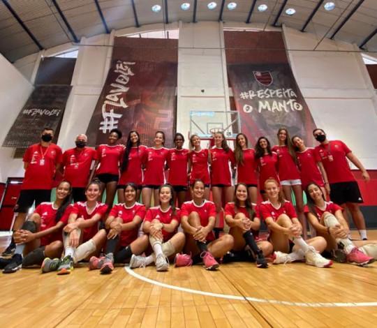 Flamengo disputa a Superliga B de Vôlei com equipe Sub-21