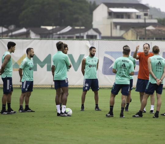 Flamengo se reapresenta no Ninho do Urubu e inicia preparação para a próxima partida do Brasileiro